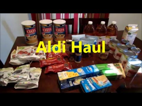▶ Aldi Grocery Haul for October 2014 - YouTube