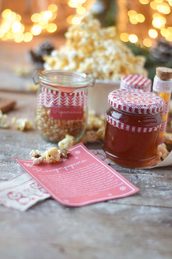 Andere Weihnachtsgeschenke.Popcorn Kit Knusperstücke Zimtberge Knuspernüsse Und Andere