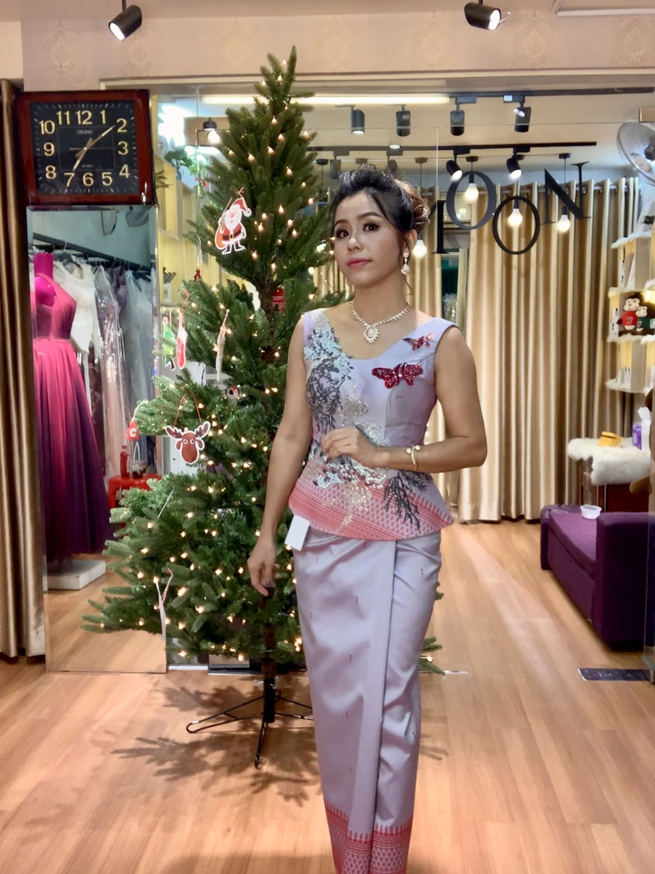 Pin by themoon tailor on khmer traditional dresses
