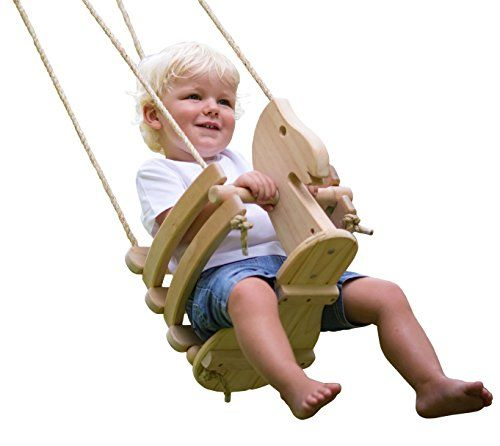 Wooden Horse Baby Swing For Outdoor Porch Or Patio Wood Https