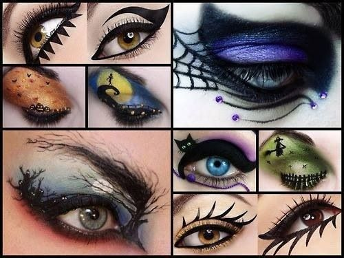 So many cool makeup ideas