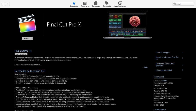 Pin En Final Cut Pro X Apple