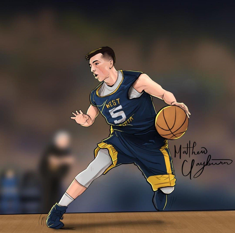 Sneaker art by Al Hughes on Basketball Art