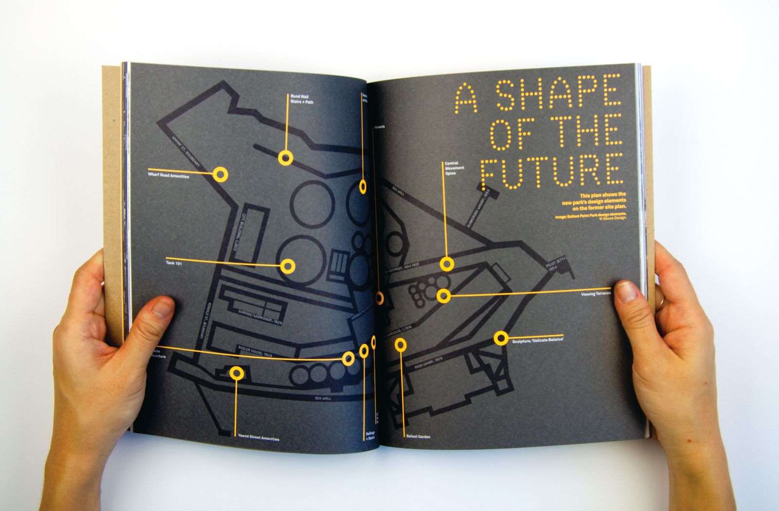 Ballast Point Park Book — Deuce Design