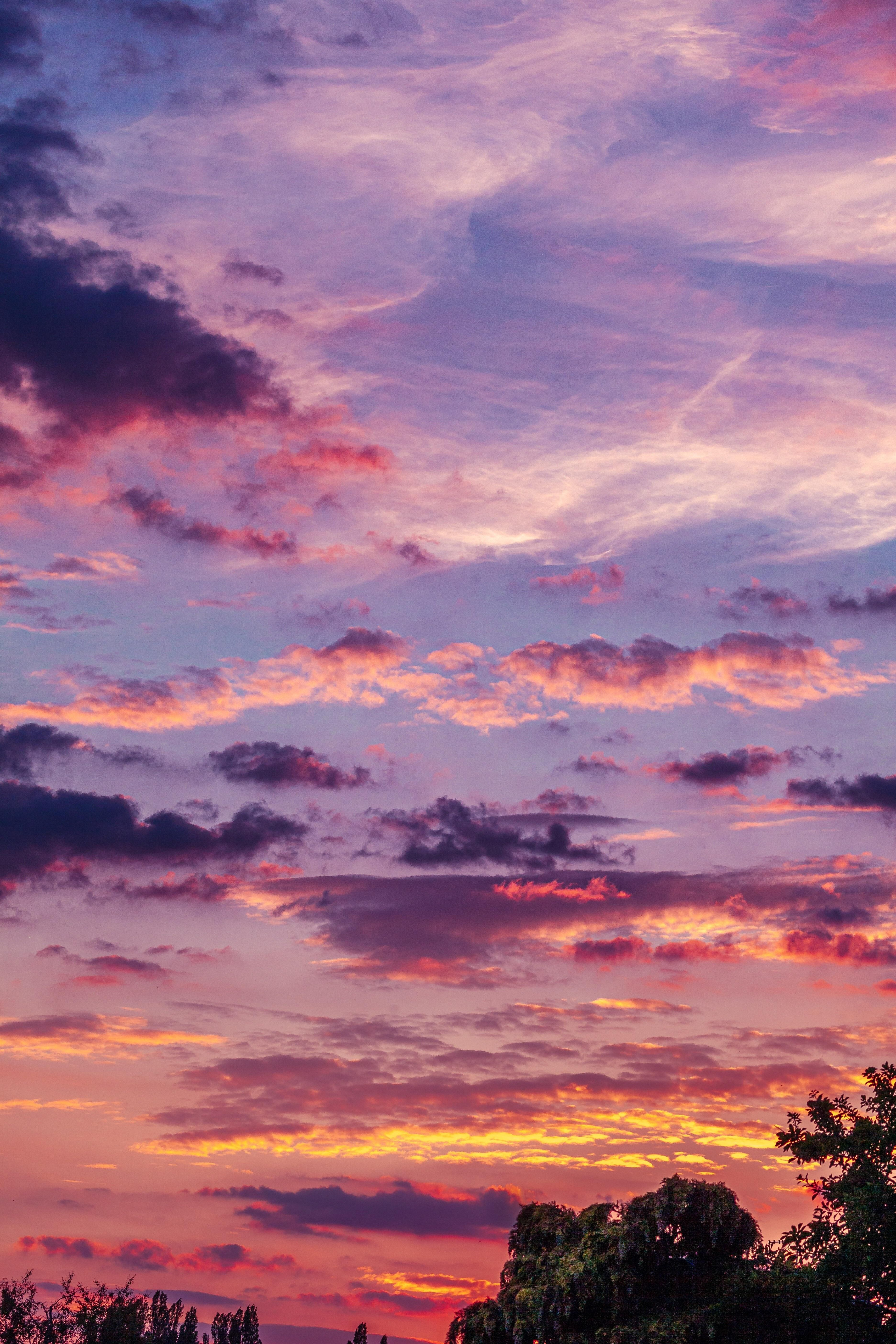 Natures Palette At Its Best So Many Different Colours And Clouds In This One Sky Skies Nature Photograph Nature Color Palette Sky Painting Sky Photography