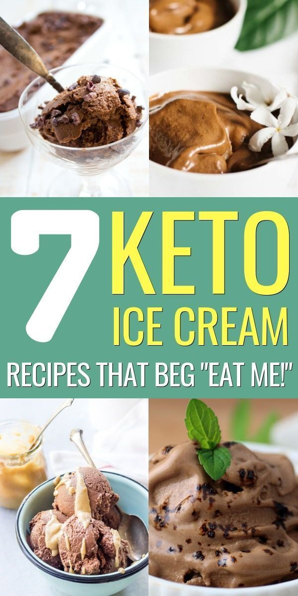 7 Easy & Delicious Keto Ice Cream Recipes For You #ketoicecream