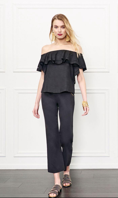c603440cb7c RACHEL ZOE Leanna Off-The-Shoulder Poplin Top. #rachelzoe #cloth ...