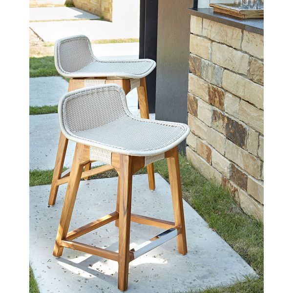 Admirable Palecek Vista Outdoor Counter Stool 500 Liked On Home Interior And Landscaping Ologienasavecom