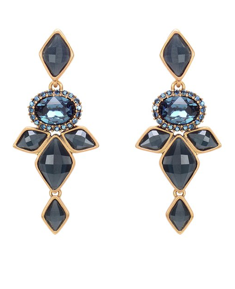 Earrings by Oscar de la Renta