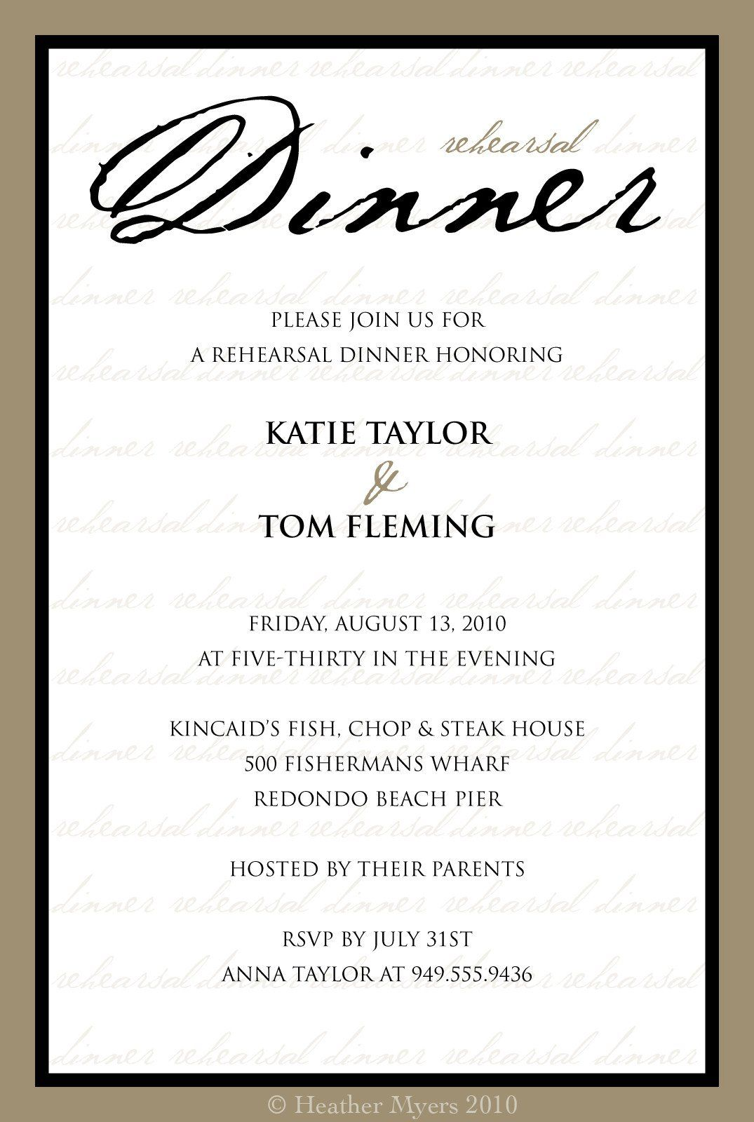 Free Dinner Invitation Templates Invitation Template Category Page