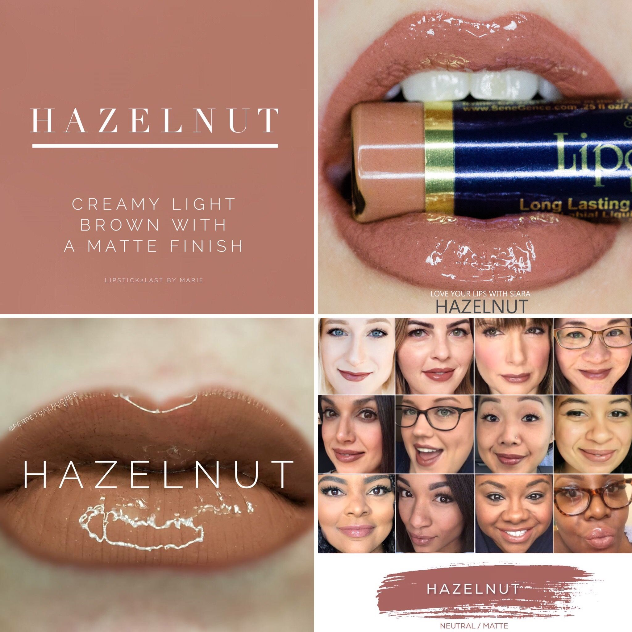 Hazelnut Lipsense Lipsense Selfies And Lips
