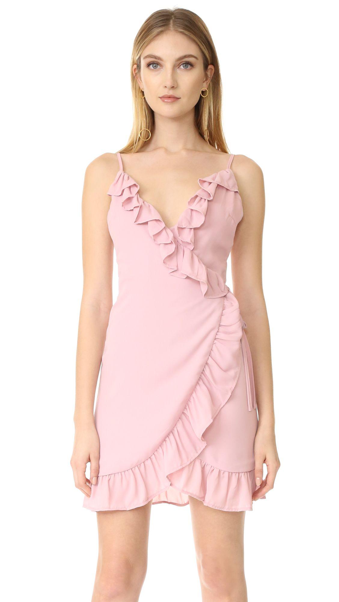 Lioness Caliente Ruffle Dress - Blush | BLOG: SHOP MY CLOSET | Pinterest