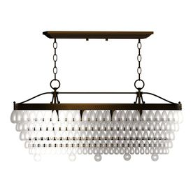 Allen Roth 4 Light Oil Rubbed Bronze Crystal Chandelier Lowes