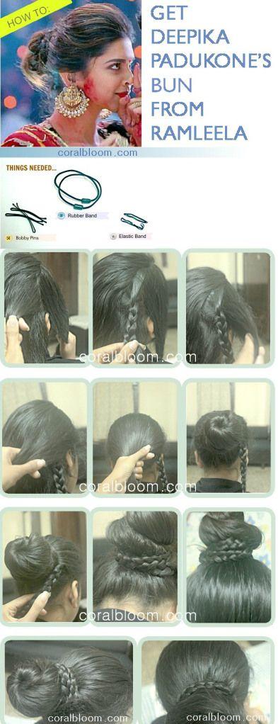 Deepika Padukone Hair Bun Tutorial - Deepika Padukone Age