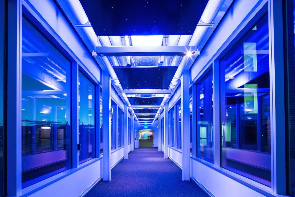 Glass Hallway Ebay Office Photo Ebay Office Ebay Office
