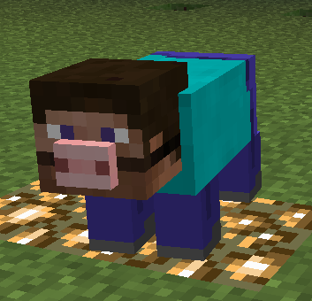 Minecraft Narcisissmcraft Texture Pack Makes Everything Terrifying Look Like Steve Minecraft Funny Minecraft Images Minecraft Memes