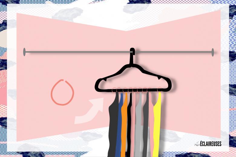 10 incroyables astuces pour parfaitement ranger tous vos vêtements - Les Éclaireuses