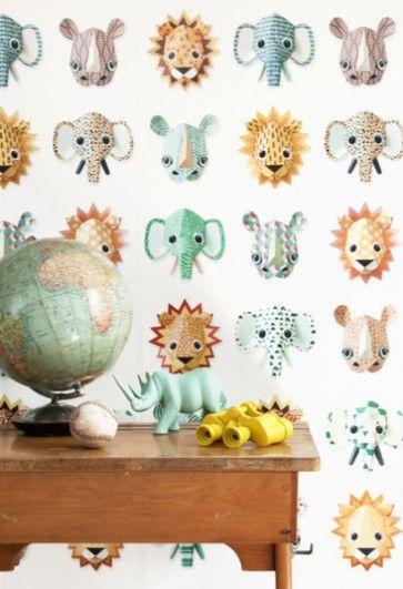 Studio Ditte Wilde dieren behang
