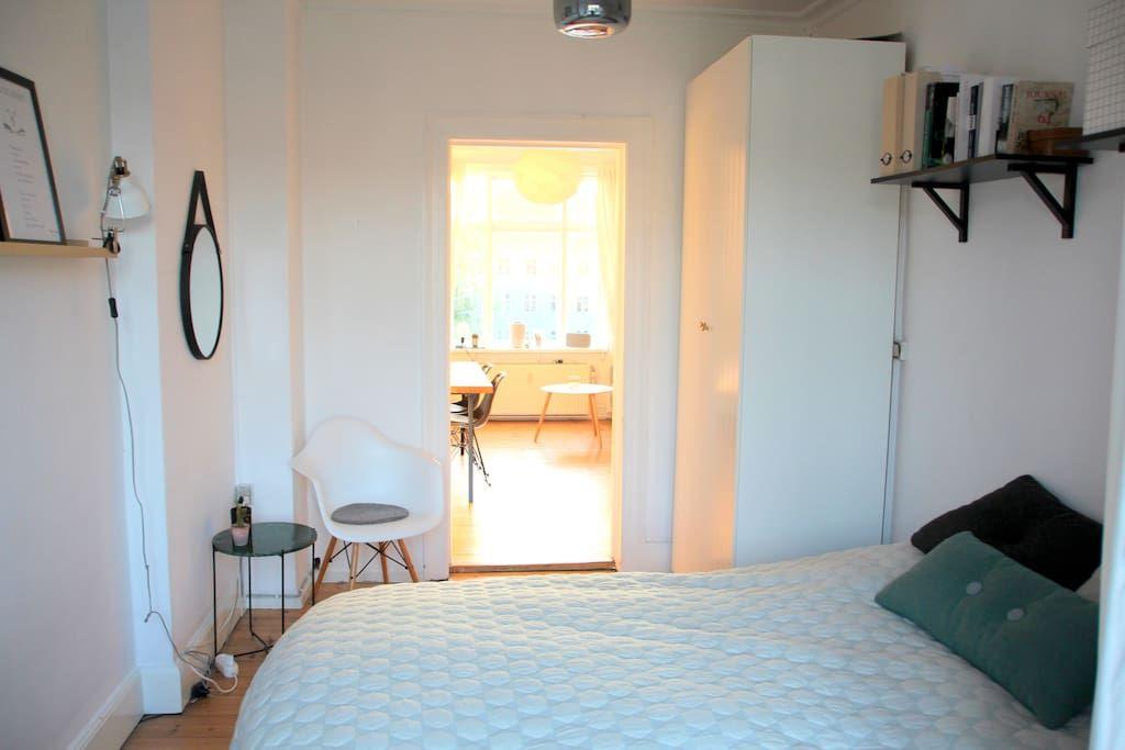 Bright and trendy flat in Nørrebro - 코펜하겐(Copenhagen)의 아파트에서 살아보기