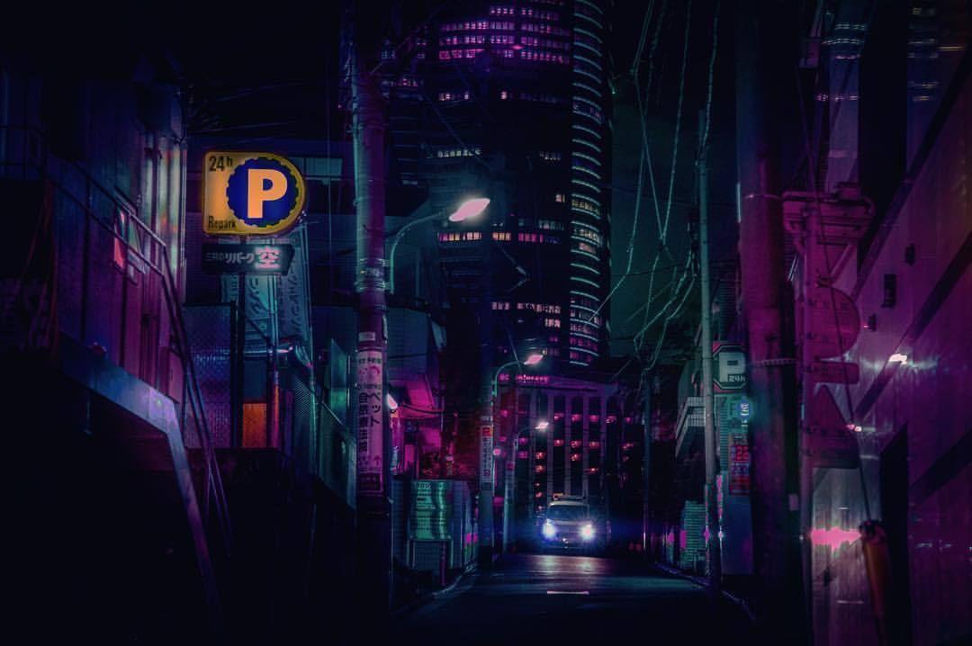 roppongi nights 六本木 flickering lights 23 02 10 the future