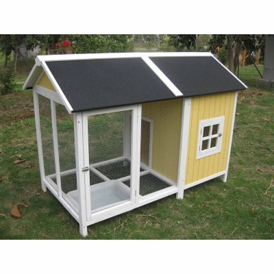 Homes Quackers Duck House With Pond Duck House Backyard Ducks Duck Coop
