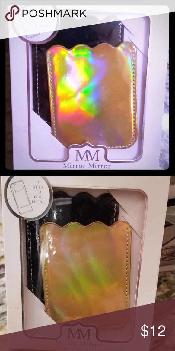 fc022d57803 Cell phone card holder 2pk cellphone card holder pocket. 1) black 1 ...