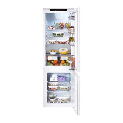 ikea køleskab integreret