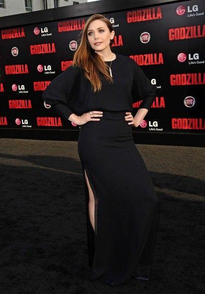 Elizabeth Olsen Photos: 'Godzilla' Premieres in LA