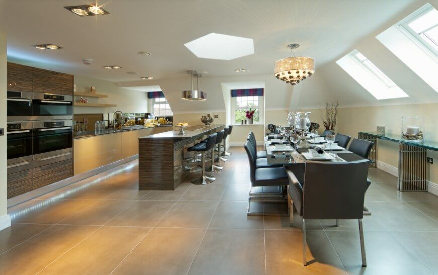 52 Beautiful Kitchens with Skylights (PICTURES) Skylight
