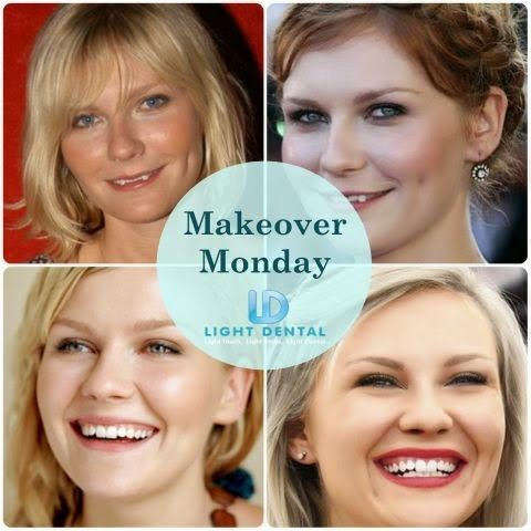 Makeovermonday Kirsten Dunst Is At Her Happiest When She Has Good