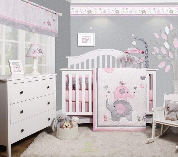 Cheatwood Elephant Baby Girl Kinderzimmer 6teiliges