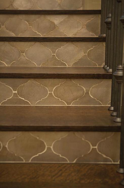 Taylor Borsari Entrances Foyers Moroccan Tiled Stairs