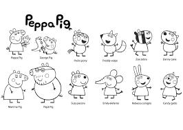 Resultado De Imagen Para Figuras De Amigos Peppa Peppa Pig Para