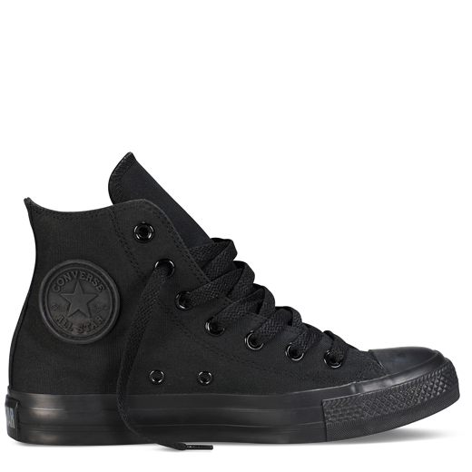 b086df6ed066 ... Classic Colors yr - Hi Canvas. All-Black High Top Chuck Taylor Shoes    Converse Shoes