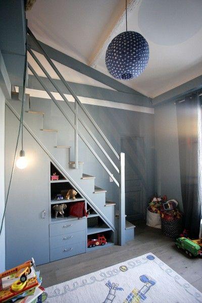 mezzanine chambre garçon   mezzanine chambre enfant   Pinterest ...