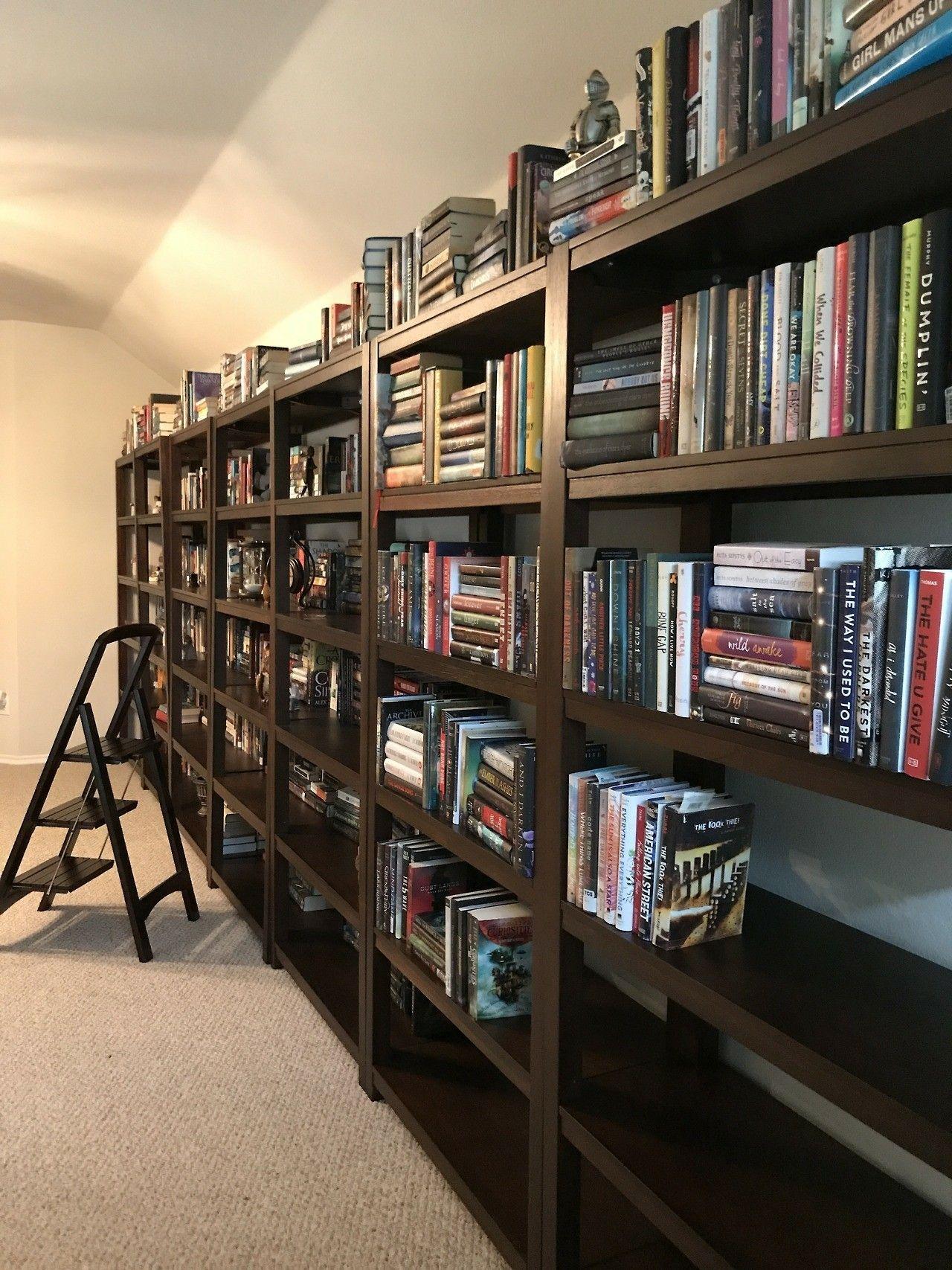 An empty bookshelf is full of potential books pinterest empty