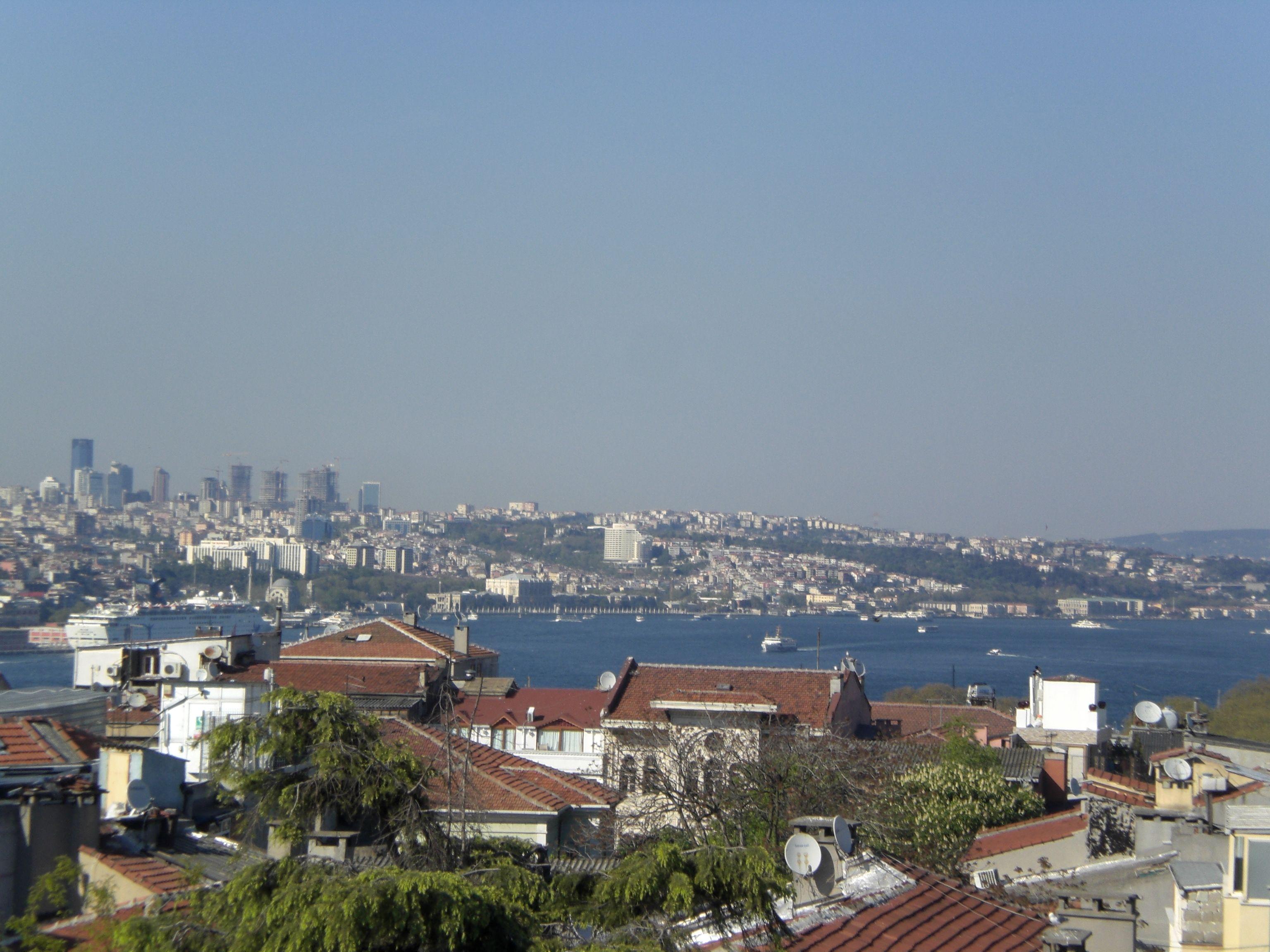Bosporus uitzicht.