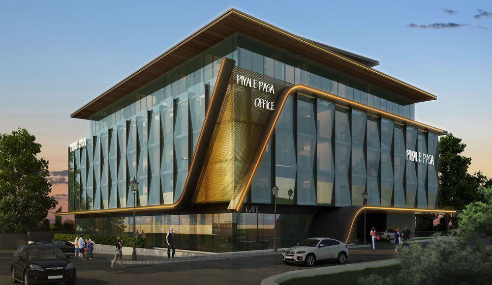 Cityist Offices Piyalepaa 3 Boyutlu Grnm