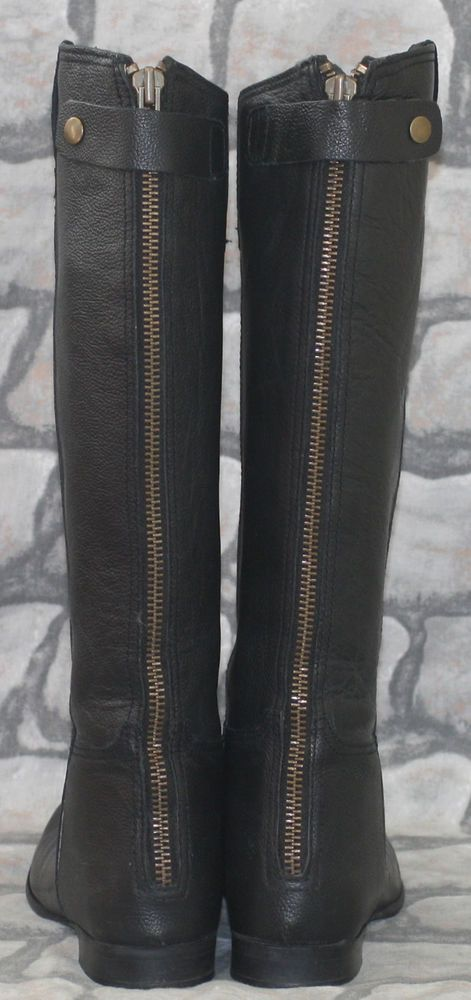 black leather victorian 30s 40s landgirl jodhpur riding flat knee
