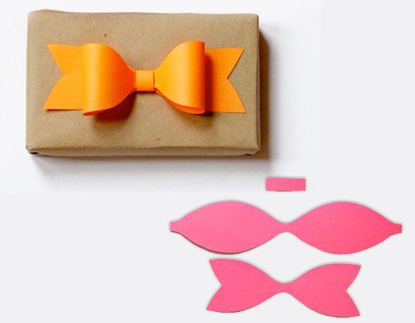 2 about orange noeud papier cadeau noeud en papier de couleur pour jolis cadeaux faire diy. Black Bedroom Furniture Sets. Home Design Ideas
