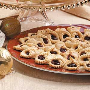Italian horn cookies recipe horn cookie recipes and italian cookies taste of home ccuart Gallery