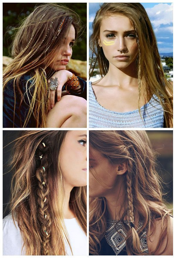 Hairstyles for festivals and concerts - #hairart #haircolor #haircoloring #hairgo … - Fitness ...