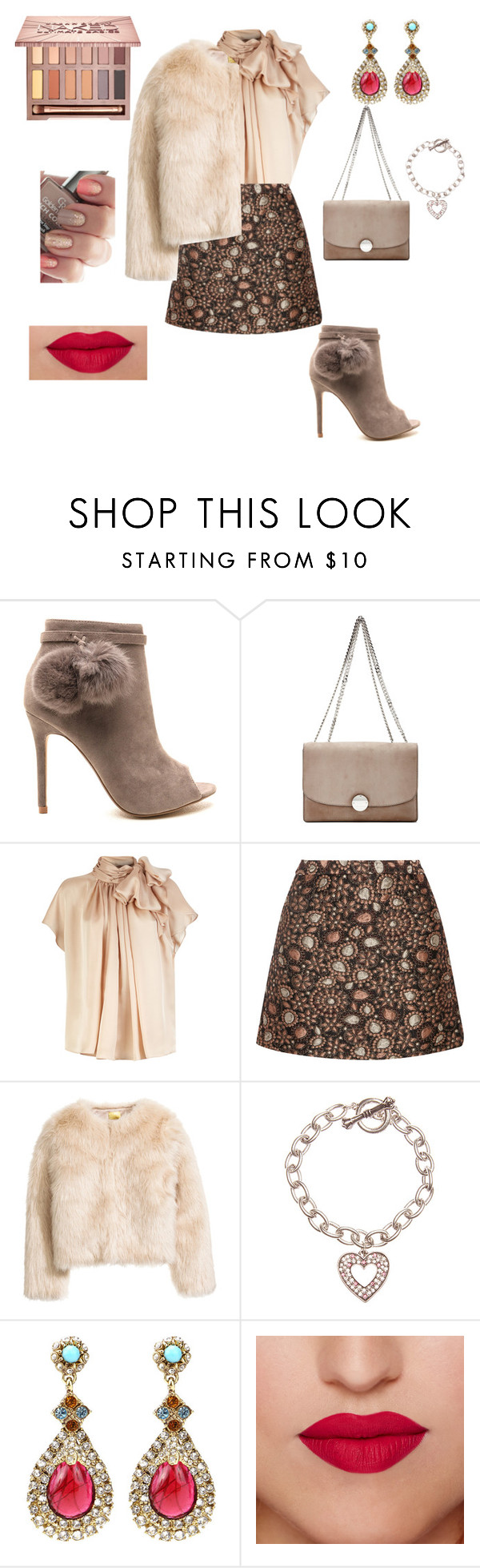 """""""Furry"""" by unpocoboho on Polyvore featuring Marc Jacobs, Alice + Olivia, Hallmark and Urban Decay"""