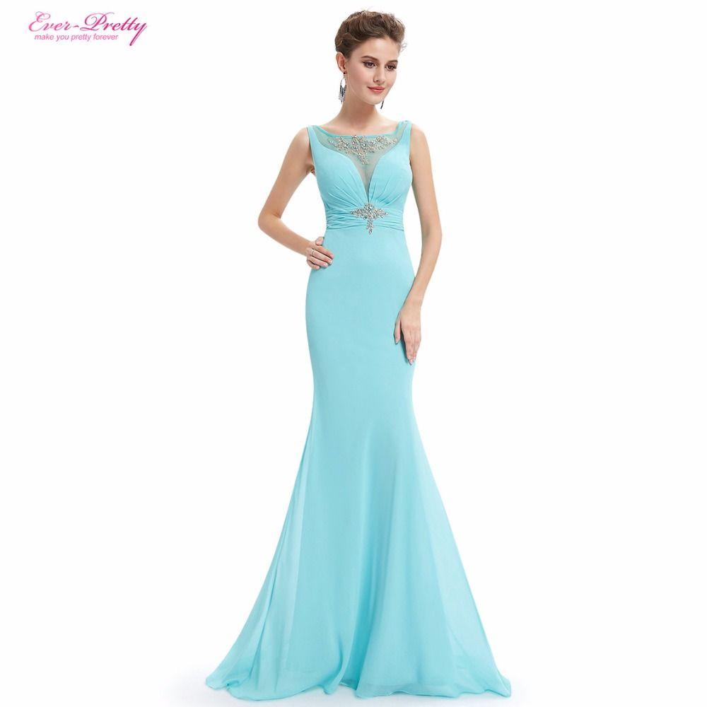 Ever Pretty Evening Dresses HE08732 Women Elegant Baby Blue ...