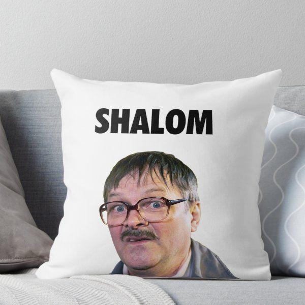 Shalom Jackie - Friday Night Dinner  Throw Pillow #fridaynightdinner