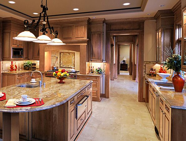 CliqStudios Maple Caramel kitchen cabinets in the Fairmont ...