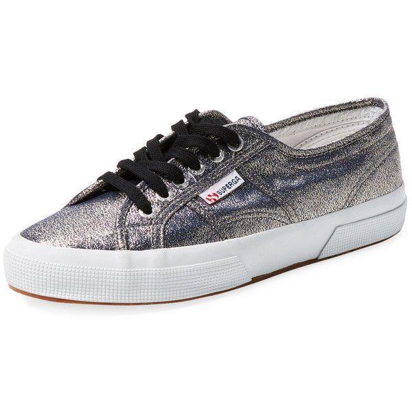 Zapatos negros SUPERGA para mujer J2CRl