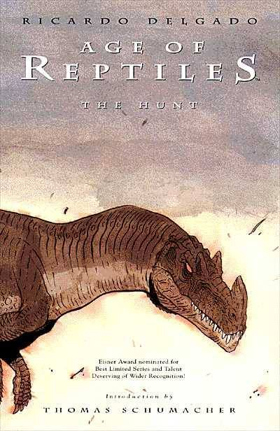 Age of Reptiles The Hunt TPB