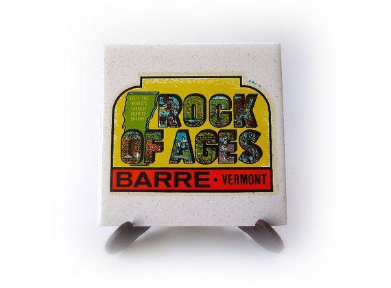 Vintage Souvenir Rock of Ages Granite Quarry by MrFilthyRotten, $6.00