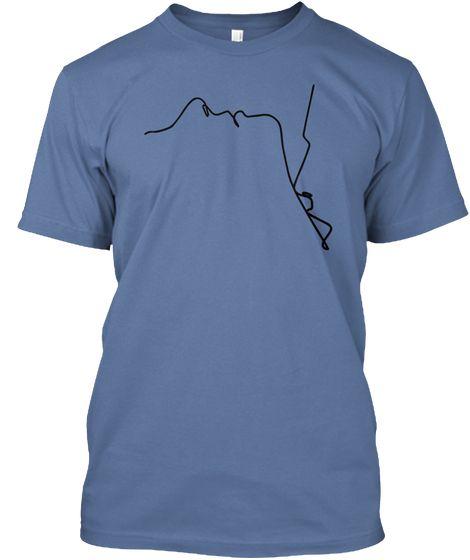 Couple Love Shirt Custom Made Denim Blue T-Shirt Front